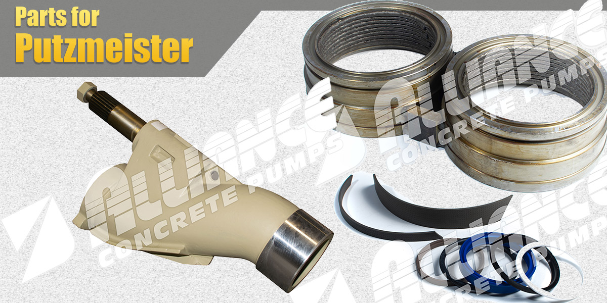 Putzmeister Concrete Pumping Parts